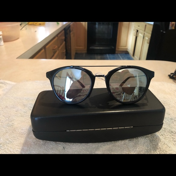 Carrera Accessories - Carrera Black Round Sunglasses NWT